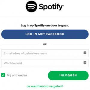 Spotify verwijderen