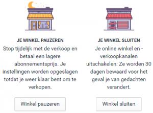 Shopify verwijderen